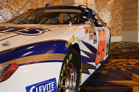 David Reutimann drove the No. 99 Aaron's Toyota Camry in the Nationwide Series in 2007.