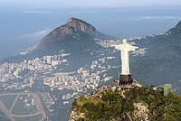 The Christ the Redeemer statue in Rio de Janeiro is one of the most famous religious statues worldwide