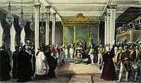 The Acclamation of King João VI of the United Kingdom of Portugal, Brazil and the Algarves in Rio de Janeiro, 6 February 1818