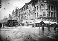 Indians in Vancouver, 1908