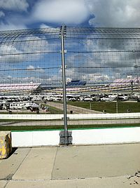 Kentucky Speedway, the track where the race was held.