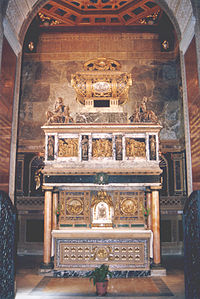 Saint John of the Cross' shrine and reliquary, Convent of Carmelite Friars, Segovia