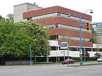 The head offices of the Richmond School District #38, on Granville Avenue.