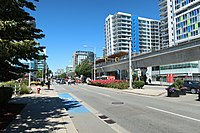 The Canada Line is Richmond's rapid transit service to Vancouver International Airport and Downtown Vancouver.