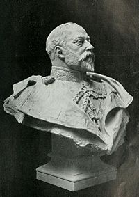 Bust by Francis Derwent Wood