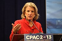 Capito addressing CPAC in 2013