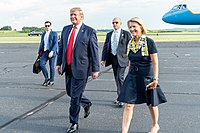 Capito with President Trump in 2019
