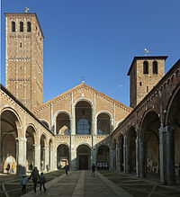 St. Ambrose Basilica dates back from AD 379–386.