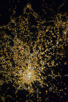 Greater Milan as seen from space.
