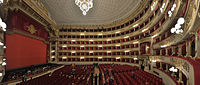 Founded in 1778, La Scala is the world's most famous opera house.