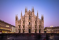 Milan Cathedral is the largest Gothic cathedral in the world.
