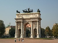 The Arch of the Peace, 1807.