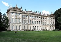 Royal Villa of Milan, one of the finest examples of Neoclassical architecture in Lombardy.