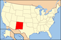 Index of New Mexico–related articles