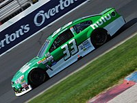 Earnhardt drove the No. 33 for Circle Sport – The Motorsports Group with Hulu sponsorship in 2017