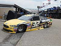 Earnhardt's 2016 Cup car for Go FAS Racing
