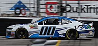 Earnhardt in the No. 00 for StarCom Racing in early 2018