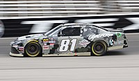 Earnhardt in the No. 81 for XCI Racing