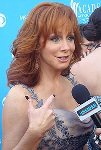 Reba McEntire attending the 45th Annual Academy of Country Music Awards