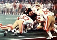 Head coach Bill Walsh led the 49ers to their first NFL championship, defeating the Bengals 26–21 in Super Bowl XVI.