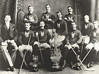 The first Challenge Cup champions: Montreal Hockey Club