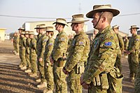 Australian soldiers deployed to Iraq in 2017