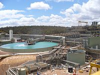 The Boddington Gold Mine in Western Australia is the nation's largest open cut mine.