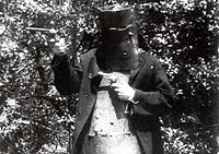 Actor playing the bushranger Ned Kelly in The Story of the Kelly Gang (1906), the world's first feature-length narrative film