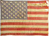 Peter Fonda's American Flag patch, which sold for $89,625 in 2007