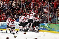 Canada's ice hockey victory at the 2010 Winter Olympics in Vancouver
