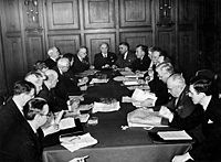The Canadian delegation to the United Nations Conference on International Organization, San Francisco, May 1945