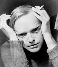 Truman Capote in 1959: Hoffman won many awards for his portrayal of the writer in Capote (2005).