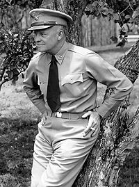 Eisenhower as General of the Army, 1945