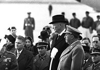 Spanish dictator Francisco Franco and Eisenhower in Madrid in 1959.