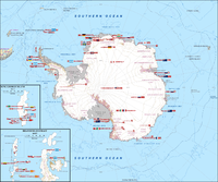 29 national programmes supporting science in Antarctica (2009)