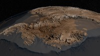 The bedrock topography of Antarctica, critical to understand dynamic motion of the continental ice sheets