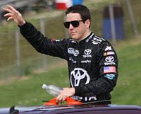Alex Bowman was signed to drive the 23 car in 2014.