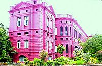 IPGMER and SSKM Hospital, largest hospital in West Bengal and one of the oldest in Kolkata.
