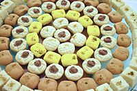 alt=Sandesh varieties|Sandesh, a typical Bengali sweet made from chhena