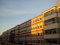 The former Lancia Borgo San Paolo Plant in Turin, where Lancia automobiles were first produced