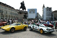 Two Lancia Stratos side by side