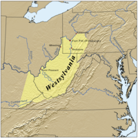 A proposal for the creation of Westsylvania was largely deterred by the Revolutionary War