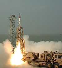 Advanced Air Defence (AAD) missile launch, 2008