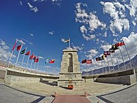 Indian Army Hall of Fame at Leh, near Indo-Tibet border
