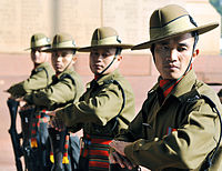 Soldiers of the Assam Regiment