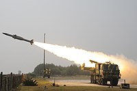 Akash Surface to Air Missile