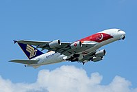 Singapore Airlines serves as the flag carrier of the country.