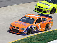 McMurray during the 2013 STP Gas Booster 500
