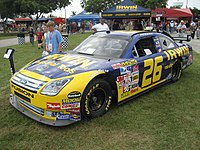McMurray's Roush car on display during the 2007 Ford Championship Weekend at the Homestead-Miami Speedway