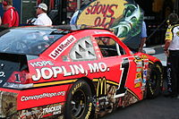 McMurray's car for the 2011 Coca-Cola 600, run in support of his hometown of Joplin, Missouri
